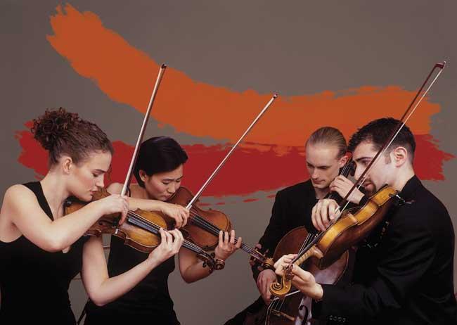 Chiara String Quartet  (Christian Steiner photo)