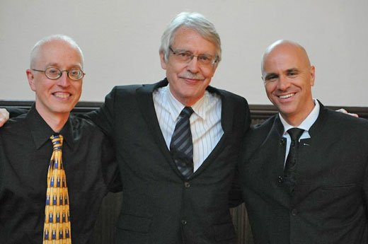 Michael Beattie , John Harbison and Ryan Turner (Julian Bullitt photo)