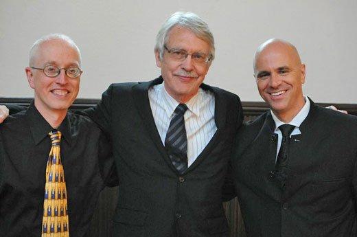 Michael Beattie , John Harbison and Ryan Turner (Julian Bullitt photo)