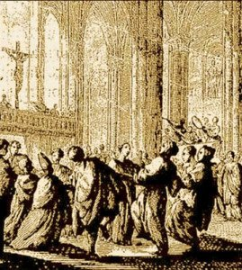 Feast of Fools, from 18th century France