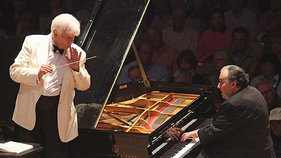 Christoph von Dohnanyi leads Yefim Bronfman-(Hilary-Scott photo)