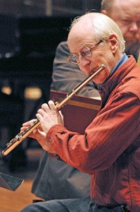 Flutist Fenwick Smith