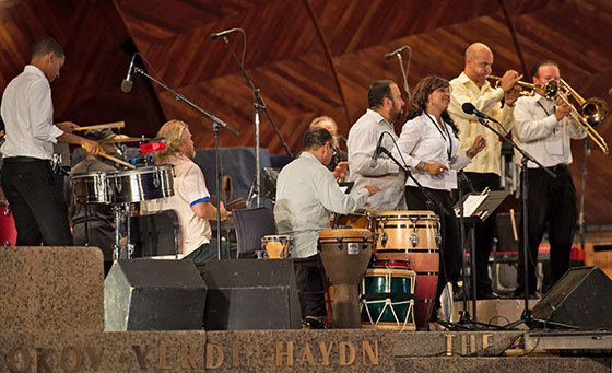 Latin Jam Session (Thomas Baker photo)