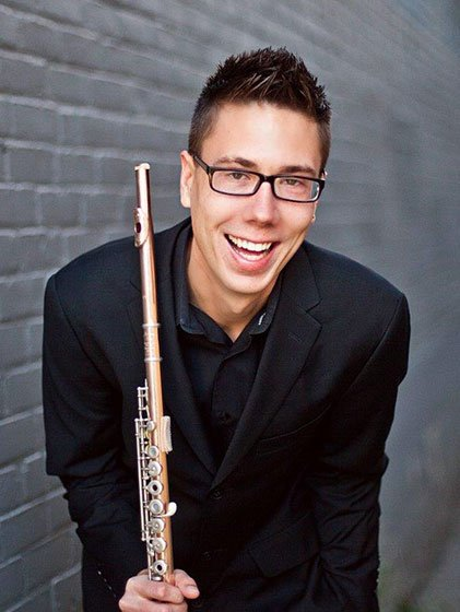 Thomas J. Wible, Winner of the 33rd Annual James Pappoutsakis Flute Competition