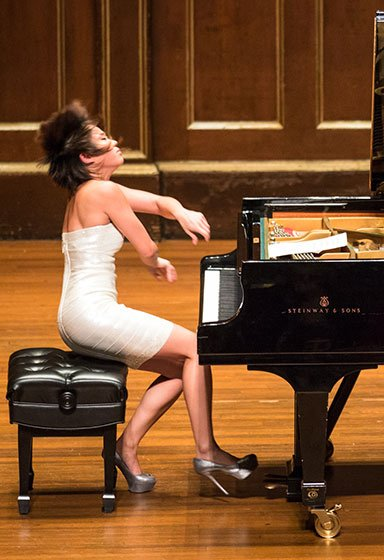 Yuja Wang (Robert Torres photo)