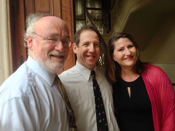 Stepner, Berman and Rentz-Moore last summer