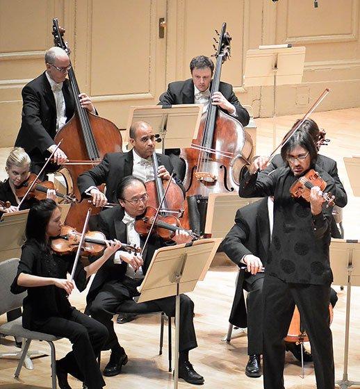 Leonida Kavakos plays Mozart at Symphony Hall (Stu Rosner photo)