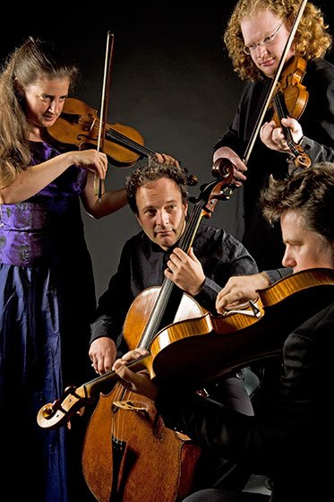 London Haydn Quartet (file photo)