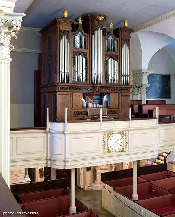 Kings Chapel Organ (Len Levasseur photo)