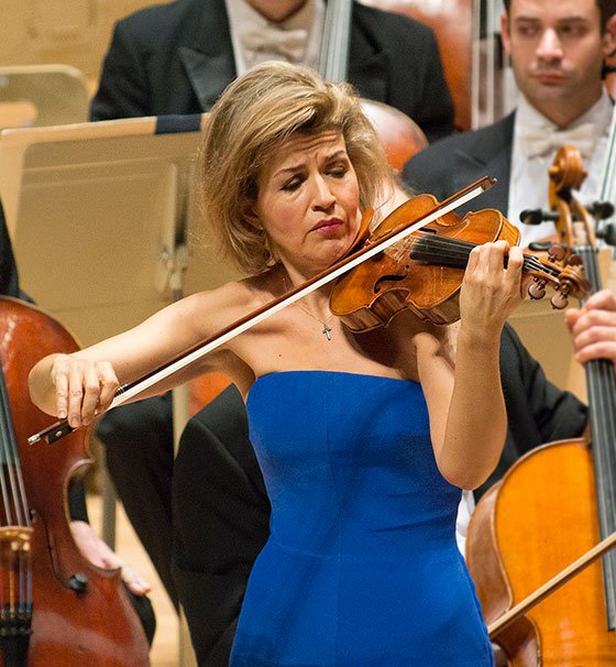 Anne-Sophie Mutter (Stu Rosener photo)