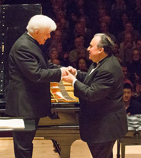 Christoph von Dohnayi and Yefim Bronfman4  (Stu Rosner photo)