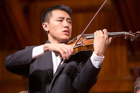 Violinist Max Tan (file photo)