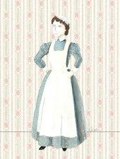 Adele costume sketch by Katherine Stebbins