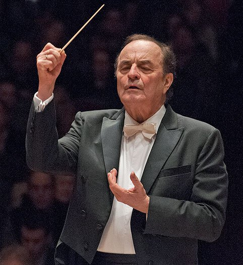Charles Dutoit conducts BSO (Stu Rosner photo)