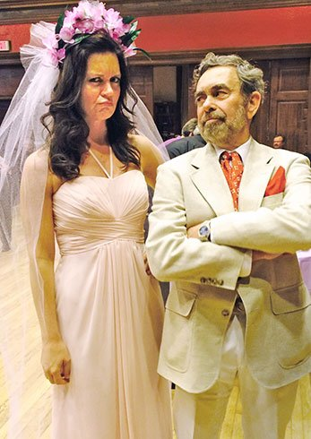 The jilted Plaintiff bride and supercilious Defendant groom