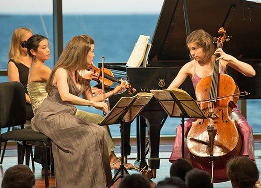 Claremont Trio (Michael J, Lutch photo)