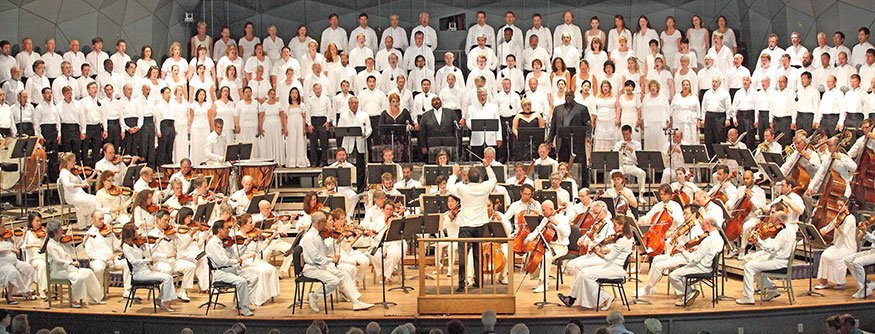 Jacques Lacombe leads BSO, TFC and soloists (Hilary Scott photo)