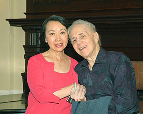 CAthy Chann and Russle Sherman in 2009