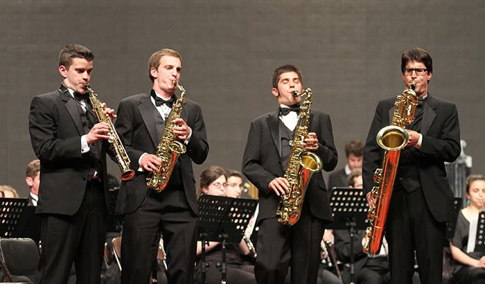 Donald Sinta Sax Quartet (file photo)