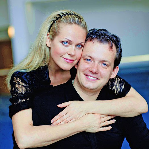 Andris Nelsons and Kristine Opolais (Marco Borggreve photo)