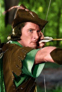 Errol Flynn, beloved rogue.