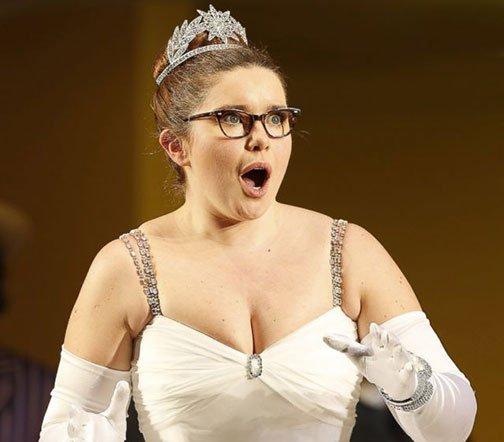 Is this the future of opera? (Tara Erraught in Glyndbourne.)