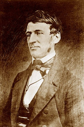Ralph Waldo Emerson  (used with [permission of The Concord Free Public Library)