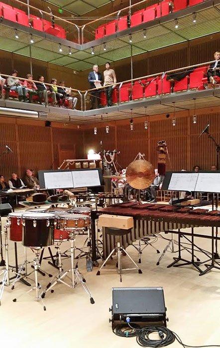 """A Stockhausen """"carnival"""" (Teni pPatterson photo)"""