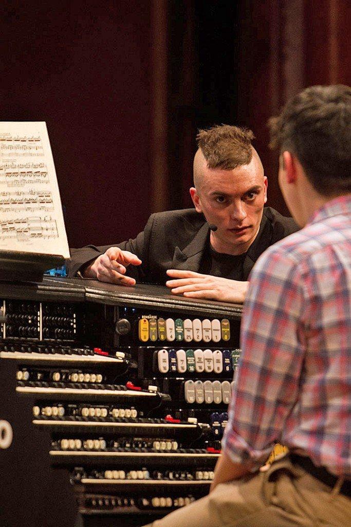 On how to play Mendelssohn (Jake Belcher photo)