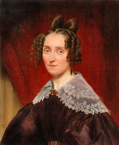 Louise Farrenc by Luigi Rubio (1835)