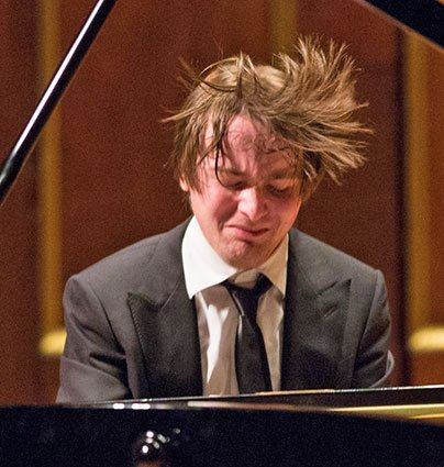 Daniil Trifonov at Jordan Hall. (Robert Torres photo)