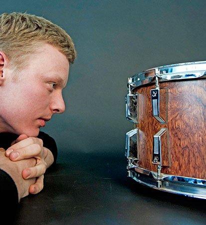Percussionist Nate Tucker