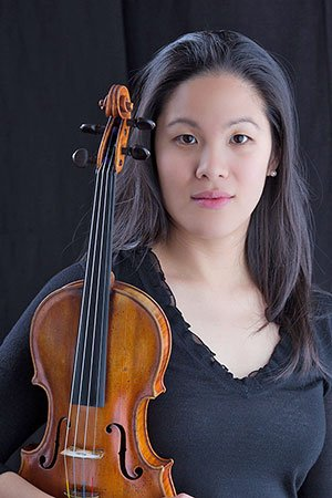 Violinist Sarita Kwok (file photo)