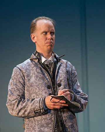 Kevin Burdette, as Leporello (Charles Erickson photo)