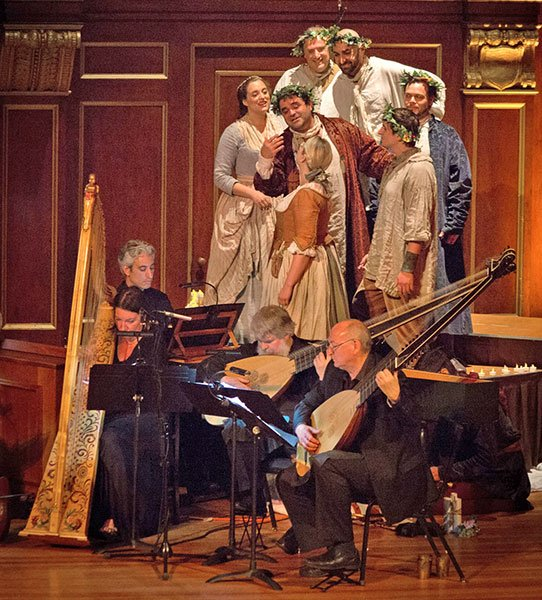BEMF Vocal and Chamber Ensemble in BEMF's 2015 revival of Orfeo