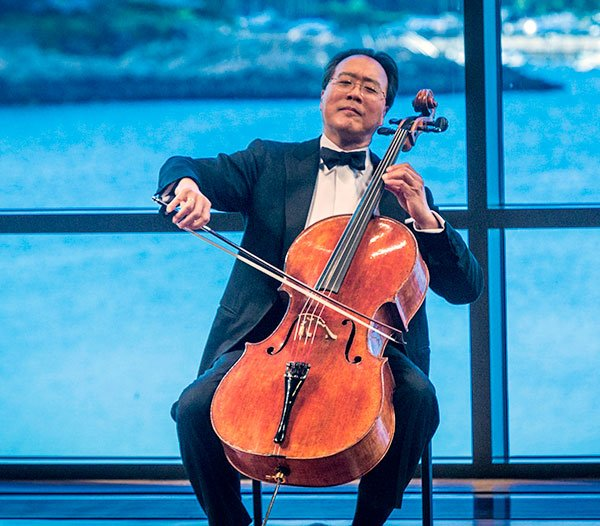 Yo Yo Ma (Michael J. Lutch photo)