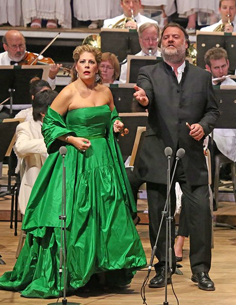 Sondra Radvanovsky and Bryn Terfel (Hilary-Scott photo)
