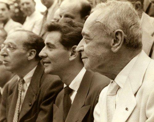 Copland, Bernstein, and Koussetitzky