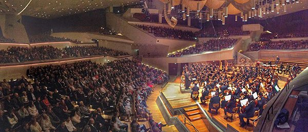 BYPO plays Berlin Philharmonie (Dave Jamrog photo)