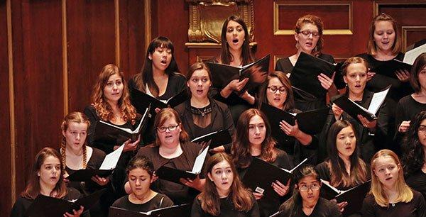 Choristers (Kathy Wittman photo)