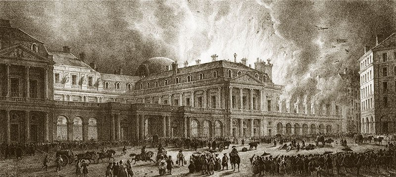 Second Salle du Palais Royal Fire