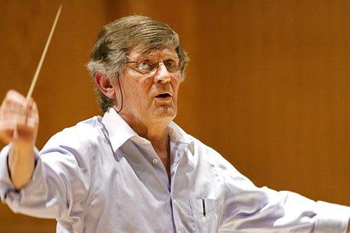 Guest conductor Joseph Flummerfelt