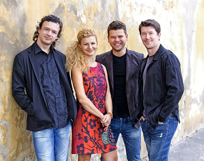 Pavell Haas Quartet (Marco Morggreve photo)