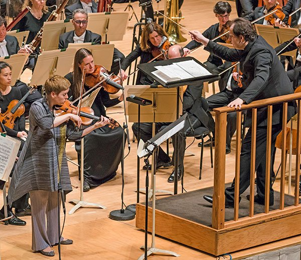 Isabelle-Faust and Andris Nelsons (Liza Voll)