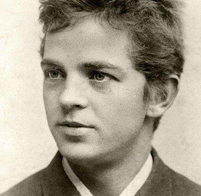 Carl Nielsen in 1884
