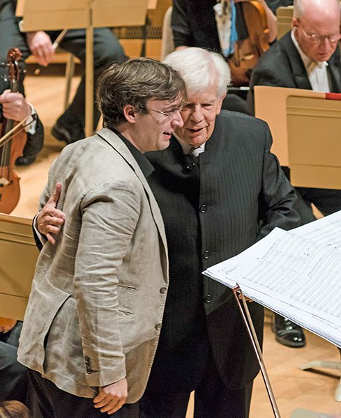 Jean-Frederic Neuberger and Christoph von Dohnanyi (Liza Voll photo)