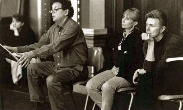 Philip Glass, Twyla Tharp and David Bowie (Carol Rosegg, courtesy of Twyla Tharp)