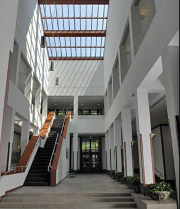 NOrton Woods atrium