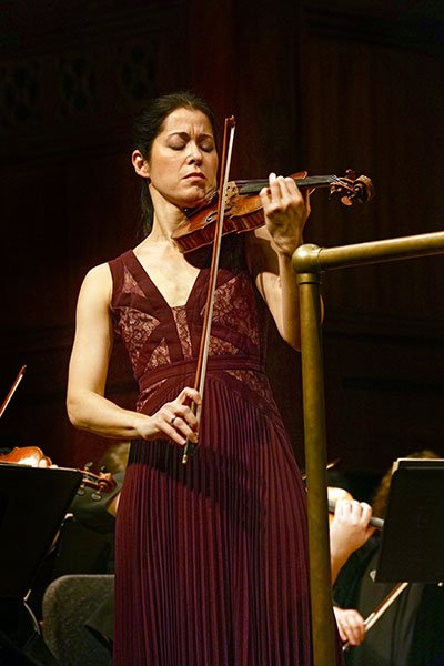 Violinist Jennifer Frautschi (Dave Jamrog photo)