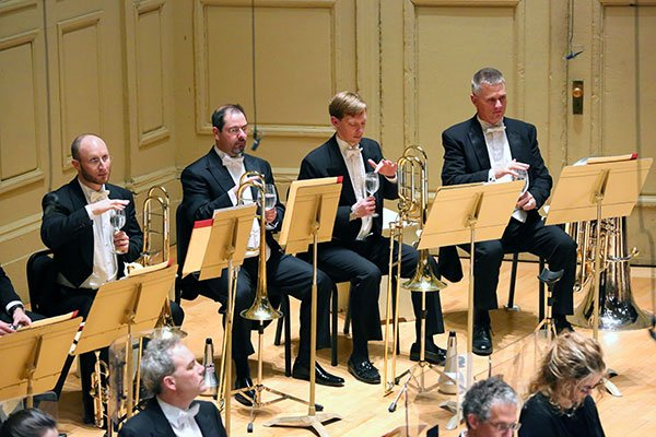 Did brass players get doubling fees? (Hilary Scott photo)